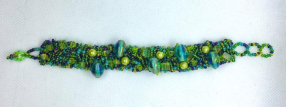 Green Guatemalan bracelet