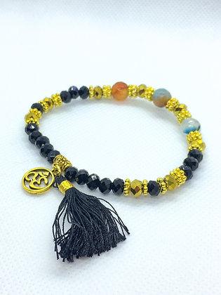 Tassel Bracelet Black
