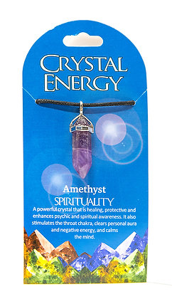 Crystal Energy Necklaces - 13 Choices First Set