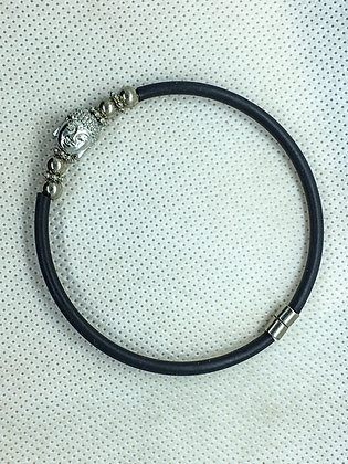 Magnetic Buddha head bracelet