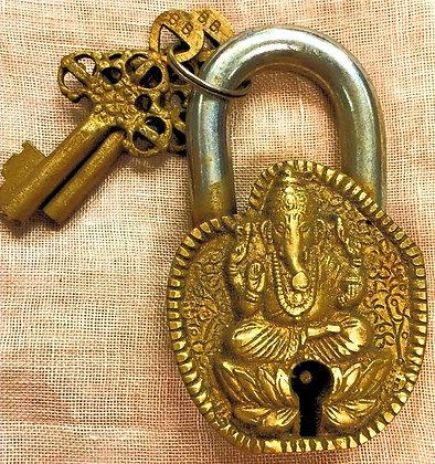 Tibetan Lock/Ganesh