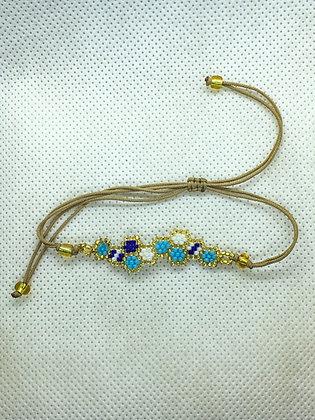 Bubble String Bracelet