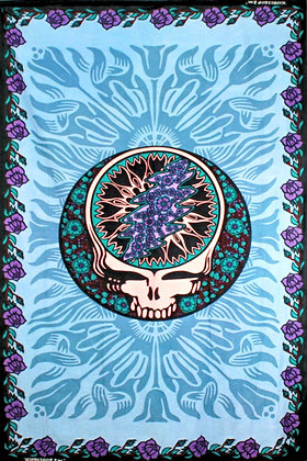 GRATEFUL DEAD STEAL YOUR FACE AND ROSES