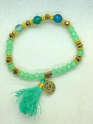 Tassel Bracelet Jade