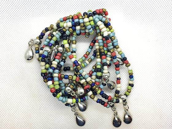 Multicolored Teardrop bracelet