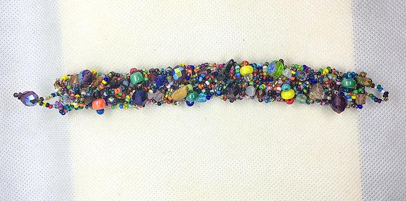 Rainbow Guatemalan bracelet