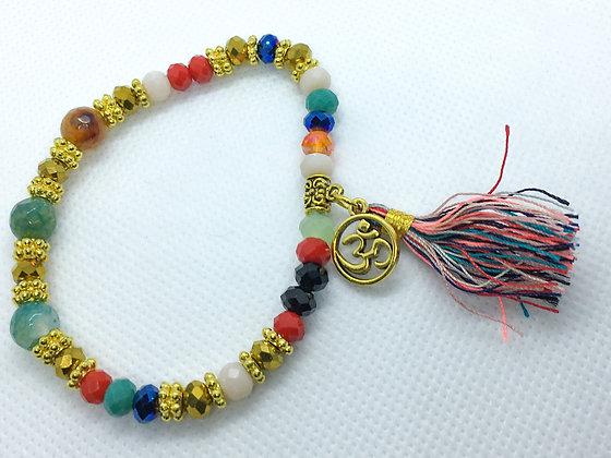 Tassel Bracelet Multicolored