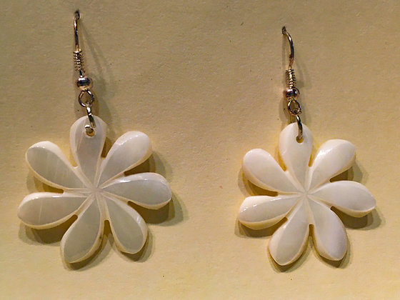 Flower Shell Earring