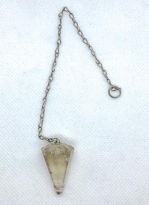 Smoky quartz pendulum