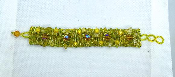 Yellow Guatemalan bracelet