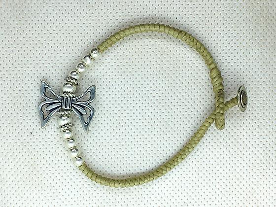 Tan Butterfly bracelet