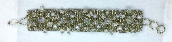 White Guatemalan bracelet