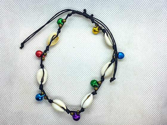 Shell Anklets with bells