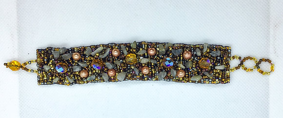 Bronze Guatemalan bracelet