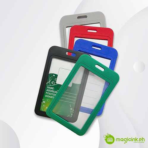 Double Side ID Holder