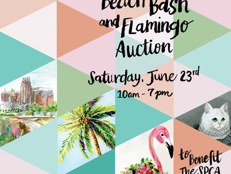Elements of Our Beach Bash Invitation