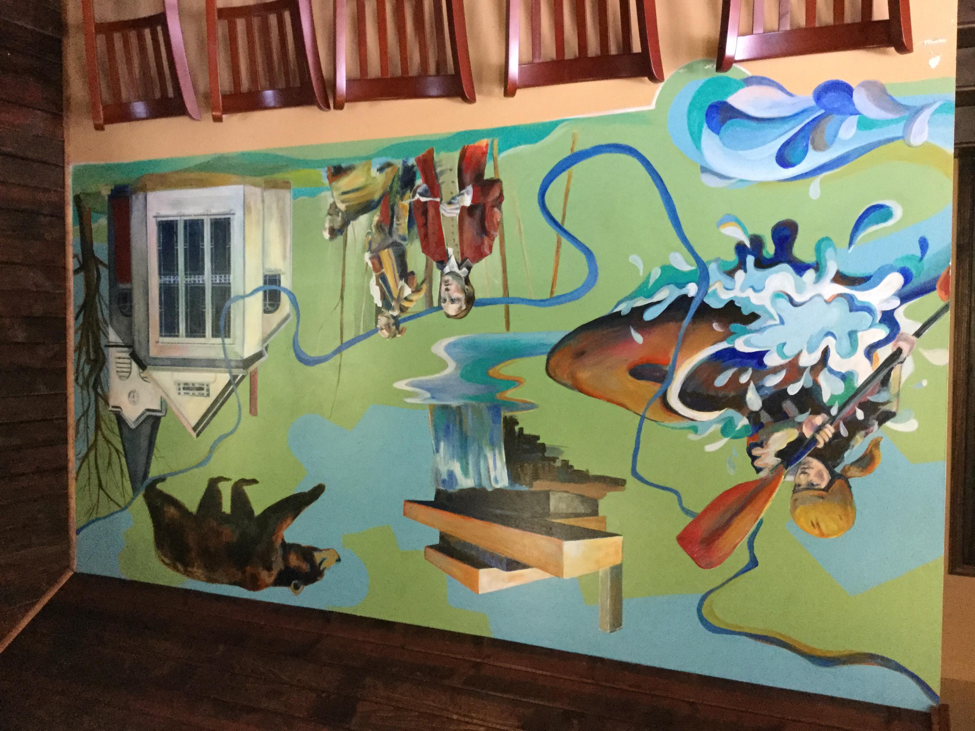 Falls Market mural, Ohiopyle PA.jpg