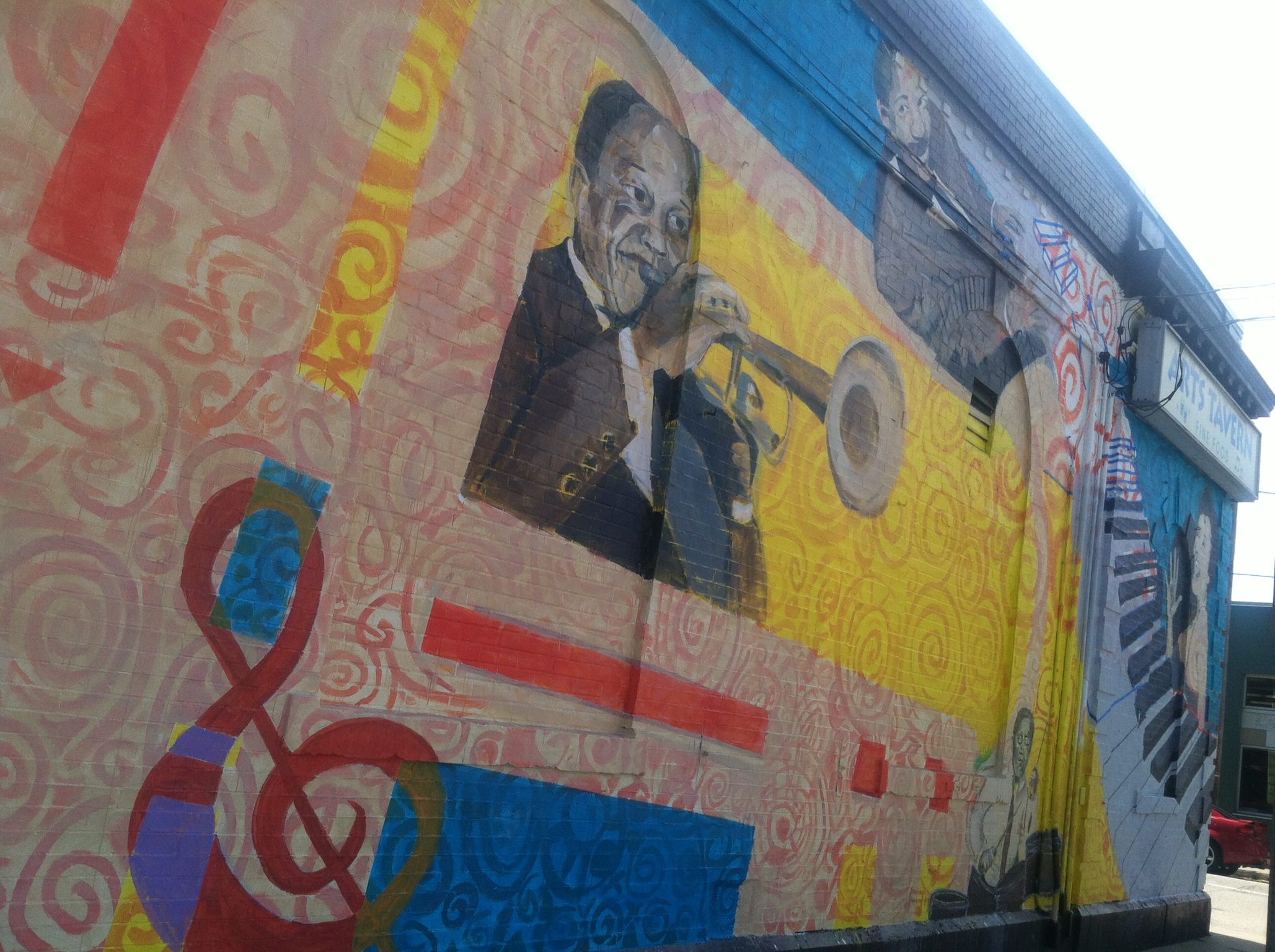 Strip District Mural