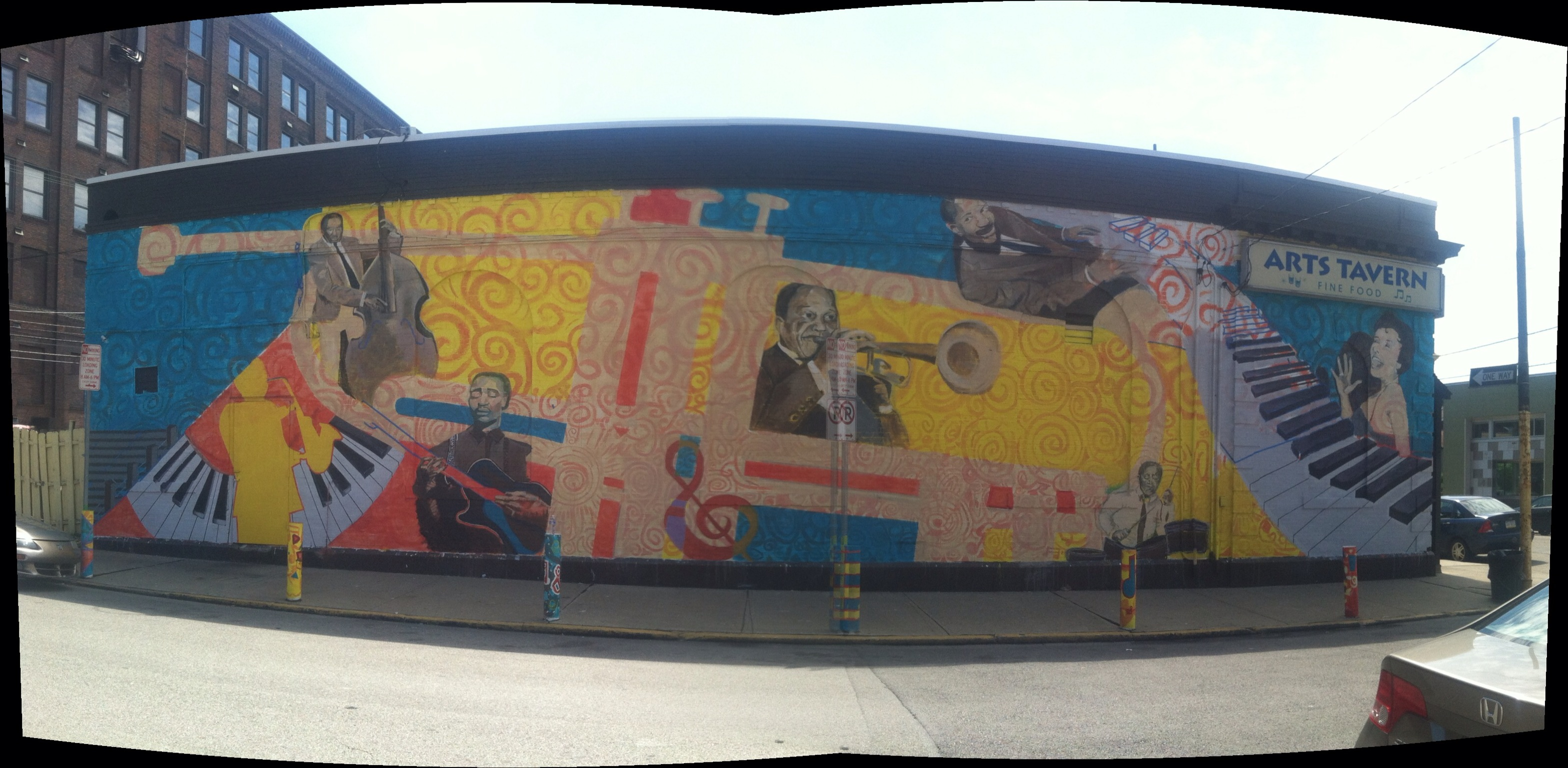 Strip District Jazz Mural
