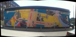 Strip District Jazz Mural