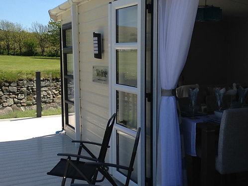 2 bed ch and dg  On park sale