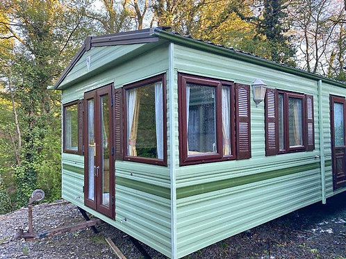 #10 Double glazed and central heating static caravan