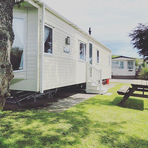 Willerby Sierra 2017 2 bedrooms  Galvanised chassis  CH and DG