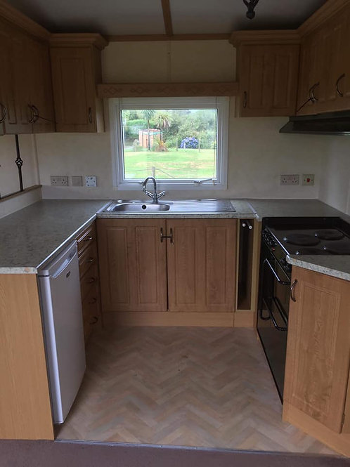 Double Glazed Static Caravan - 3 Bed