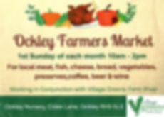 ockley farmers market, village greens