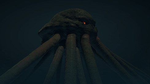Cthulhuesque Creature Render