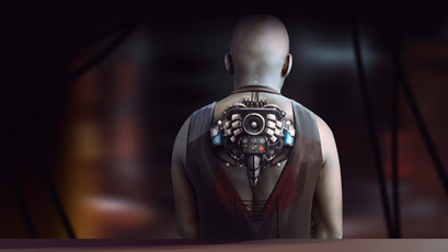 Cyborg back