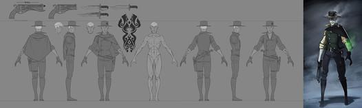 Ghoul Gunslinger Character Sheet