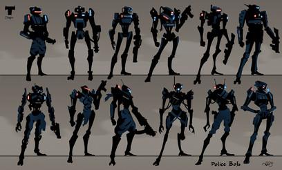 Police Robot Design