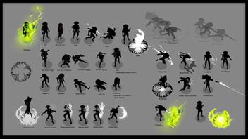 Ghoul Gunslinger Move list