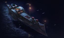 Falh Al-Kwarizm's Ship
