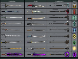Monstrous Weapons