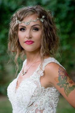 emily bridal hair