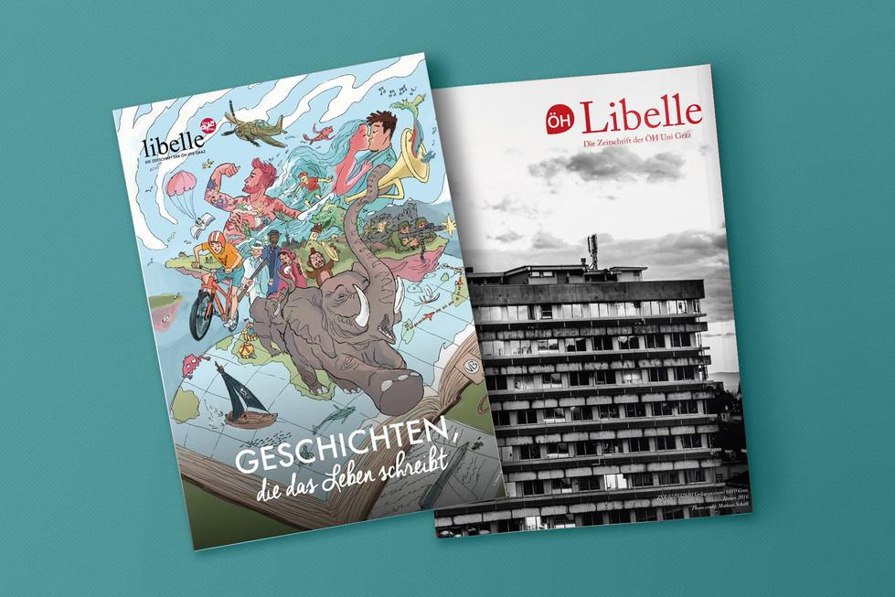 Cover Illustration Libelle