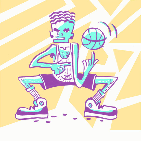 basketball dude
