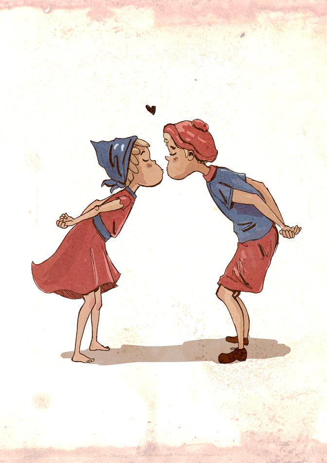 Kinderfreunde Illustration