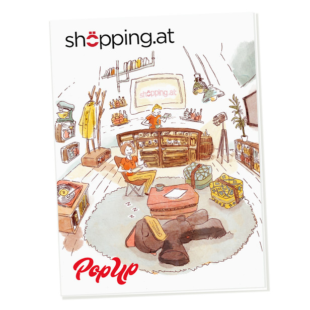 shoepping magazincover