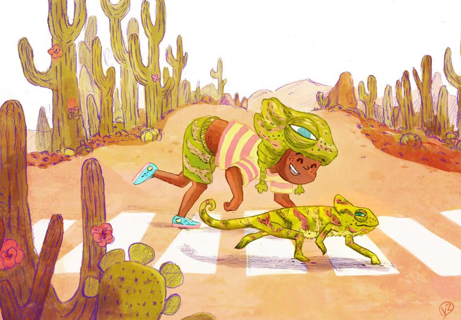 mister chameleo