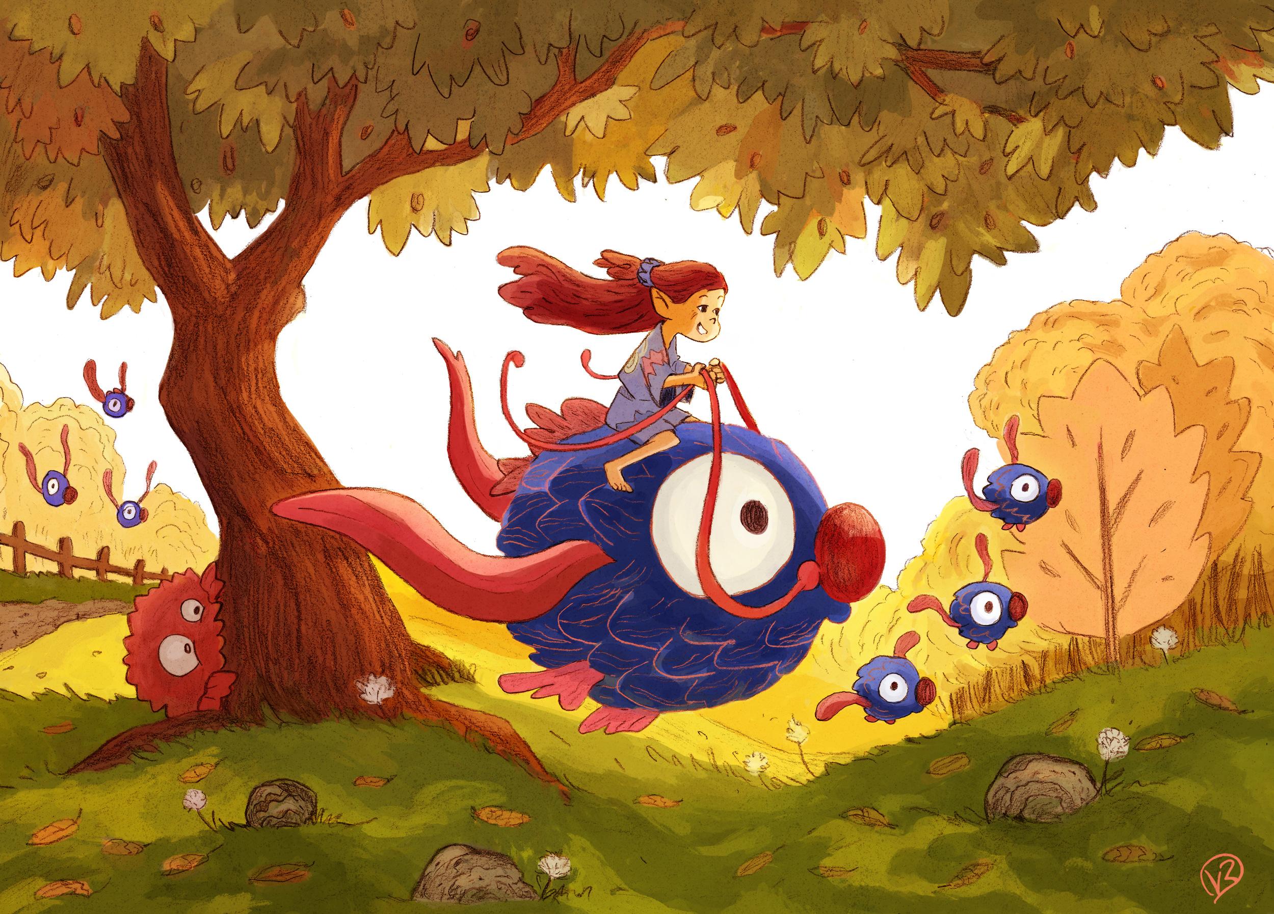 fantasy world for kids