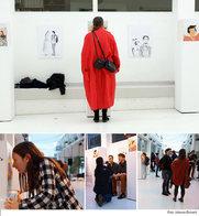 Comicausstellung Nahaufnahmen
