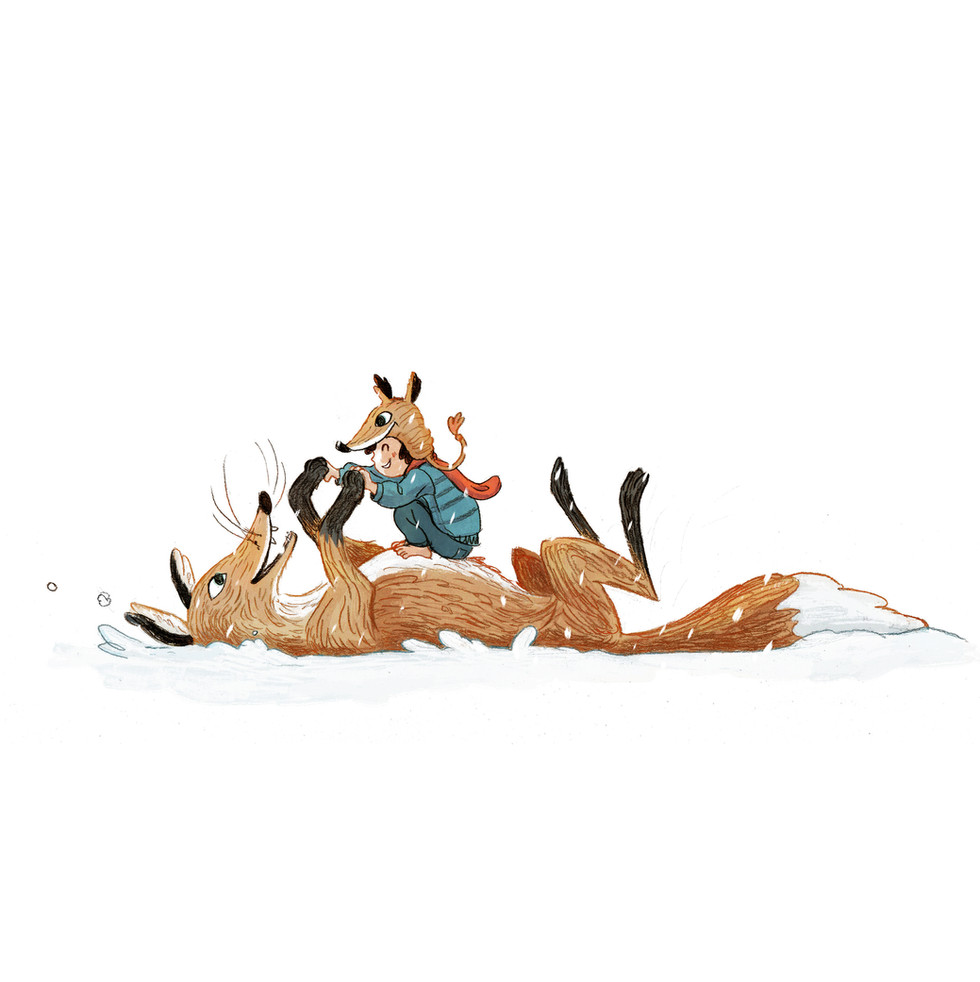 Snowfight Fox