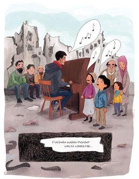 Blickwinkel - Aeham Ahmad Comic