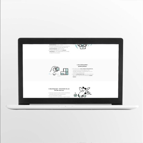 Brand Illustration - Website