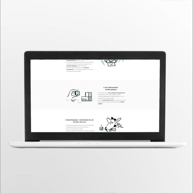 Brand Illustration - Website