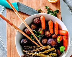 bowl végétarien, food truck de cuisine végétarienne - vegan