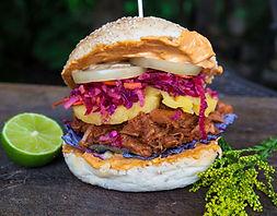 burger végétarien, food truck de cuisine végétarienne - vegan